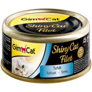 GimCat ShinyCat Filet консервы для кошек из тунца 70 г (30004)