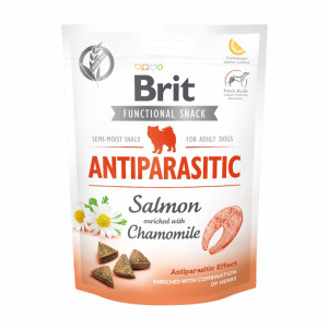 Брит Лакомство д/собак Brit Care Antiparasitic Salmon, 150г, 540013
