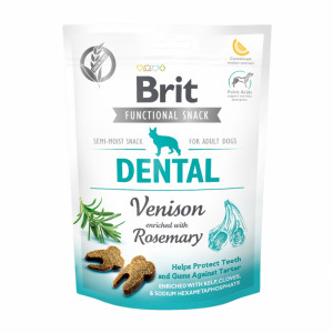 Брит Лакомство д/собак Brit Care Dental Venison, 150г, 539949