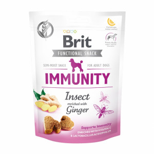 Брит Лакомство д/собак Brit Care Immunity Insect,150г,  539970
