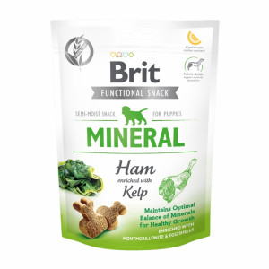 Брит Лакомство д/собак Brit Care Mineral Ham for Puppies, 150г, 539994