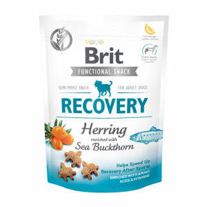 Брит Лакомство д/собак Brit Care Recovery Herring, 150г, 540020