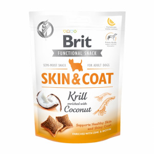Брит Лакомство д/собак Brit Care Skin&Coat Krill, 150г, 539963
